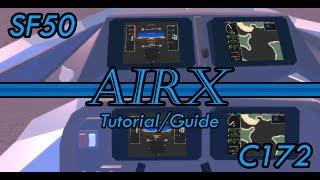 AirX Tutorial/Guide   All Airplanes   ROBLOX