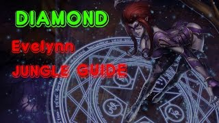 [season 5] Diamond Evelynn COUNTER JUNGLE GUIDE | RUNES MASTERIES ITEMS TIPS ANDTRICKS