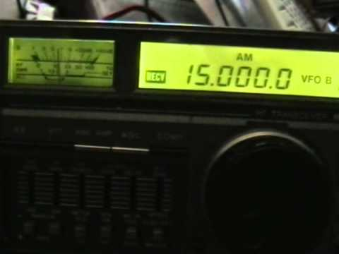 National Institute of Standards and Technology Time WWVH Hawaii 15 Mhz