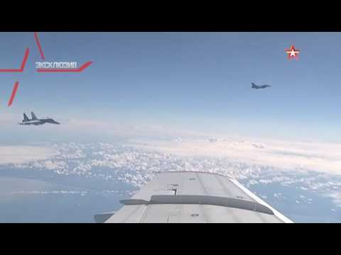 Russian defense minister's plane buzzed by NATO jet