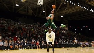 2014 NBA D-League Dunk Contest Highlights