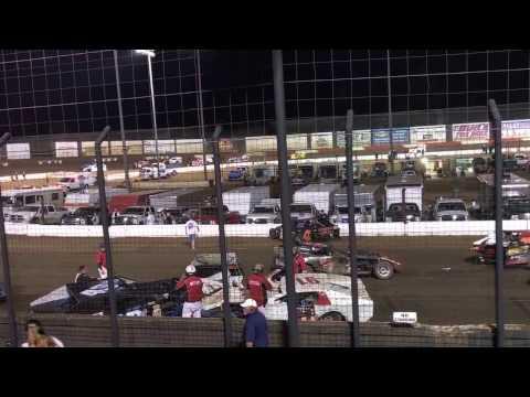 Perris Auto Speedway Pileup Crash
