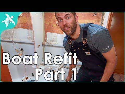 Boat Refit Month 1