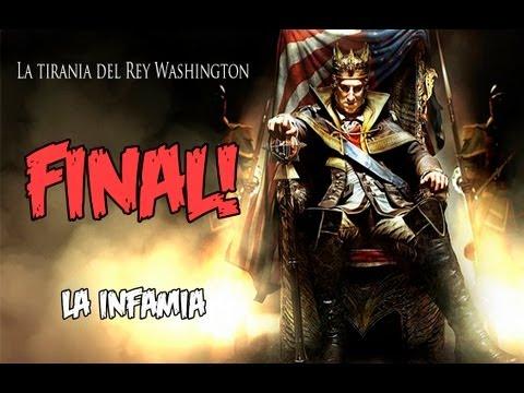 Assassin's Creed 3 - La Tiranía del Rey Washington :Final