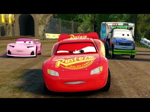 Cars 3 Video Game Part 3 - All Battle Racing Cups