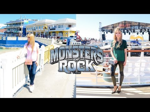 The return of Monsters of Rock Cruise - East Coast 2017 | Montse Baughan