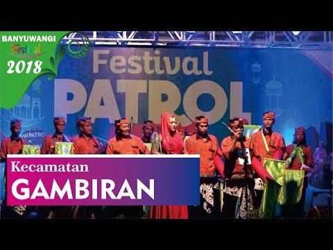 Kecamatan Gambiran Festival Patrol 2018 | Banyuwangi Festival