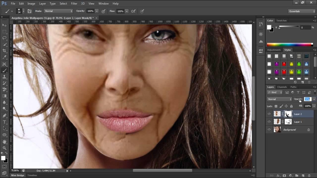Photoshop Extreme Makeover Youtube