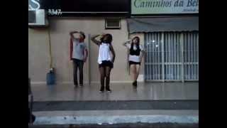 F(x) - Mr. Boogie + Chu~ + ChoCoat - I Like It + Wonder Girls - Like This (Allin3 Dance Cover)