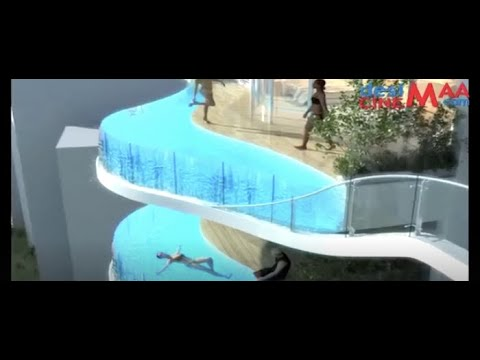 The Aquaria Grande Residential with Balcony Pool / Mumbai / India