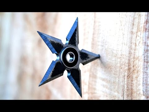 Making A Steel Shuriken Fidget Spinner