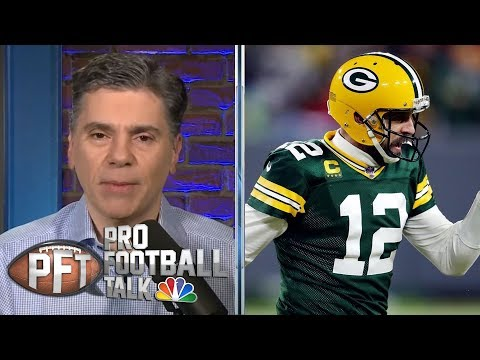 Aaron Rodgers in vintage form in Packers' win over Seahawks   Pro Football Talk   NBC Sports