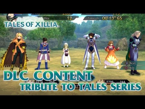 Tales of Xillia - PS3 - Tribute to Tales series DLC content (trailer)
