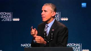 President Obama talks about the benefits of Code Bootcamp training