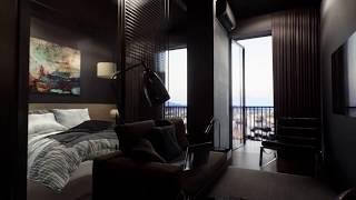 ერთ საძინებლიანი სტუდიოს ტიპის ბინა თბილისში iBuild ის საცხოვრებელ კომპლექსში