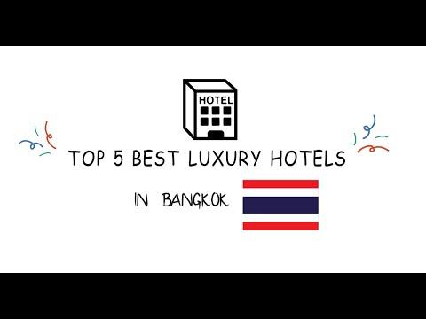 TOP 5  BEST luxury Hotels in Bangkok