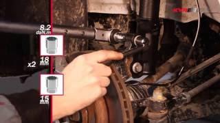 FORD Fiesta VI - FRONT - Передние амортизаторы KYB установка(Видео о том, как правильно производить замену передних амортизаторов KYB на автомобиле FORD Fiesta VI (10.2008 - ). Всё..., 2013-08-13T08:29:23.000Z)