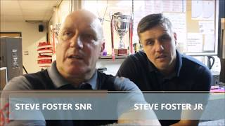 STEVE FOSTER AND JR ON THEIR RETURN TO BOXING