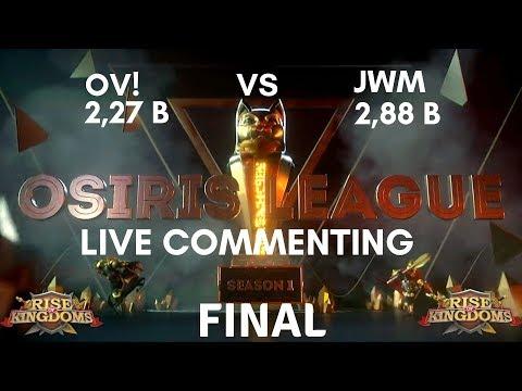 OSIRIS LEAGUE GRAND FINAL OV! Vs JWM - Season 1  - Rise Of Kingdoms
