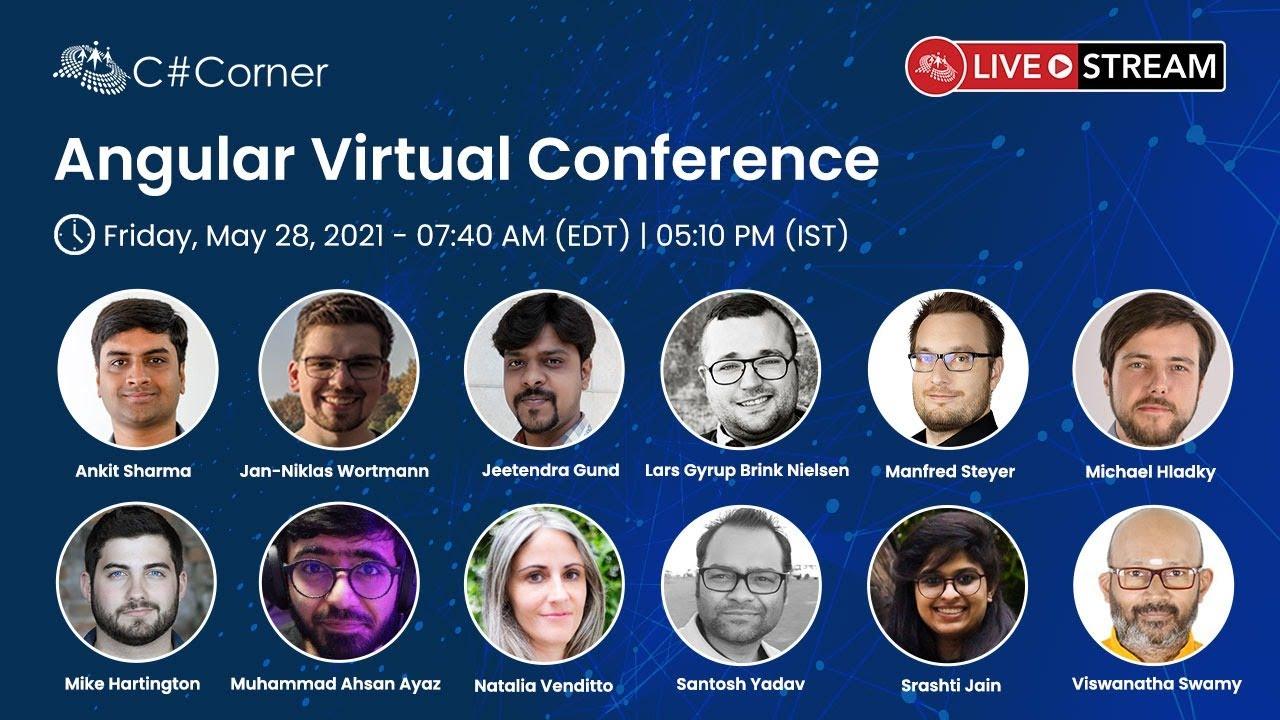 Angular Virtual Conference 2021 - C# Corner