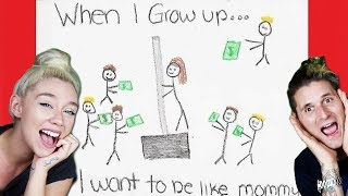 FUNNIEST INAPPROPRIATE KIDS DRAWINGS