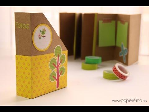 Lbum fotos acorde n manualidades con papel scrapbooking - Manualidades de papel reciclado ...