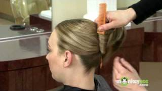 French Twist Hairstyle - Creating the French Twist