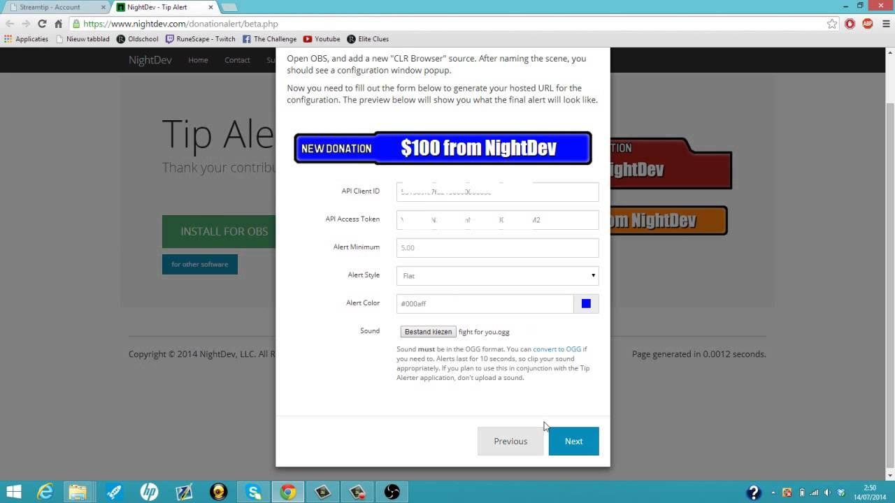 twitch donation alert tutorial