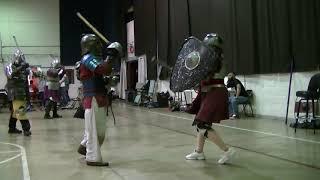 Sargent Vigfuss mjoksiglandi vs Lady AEthelwynn Skerra Dimma
