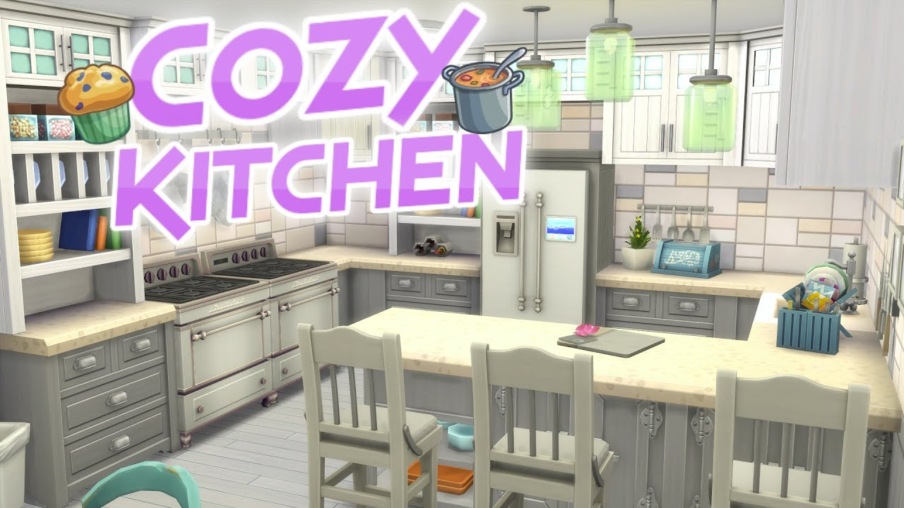 The Sims 4 Parenthood Cozy Dream Kitchen Speed Build