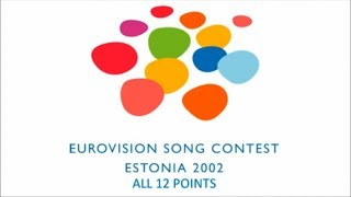 Eurovision 2002 All 12 Points