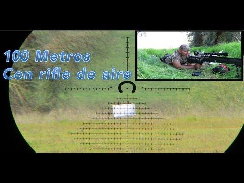 �Reto de 100 Metros con rifle de aire!