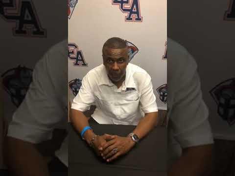 Interview with Dexter Washington Head Coach Hamilton Christian Academy LCA Showcase Classic