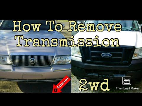 Mercury/Ford Transmission Removal