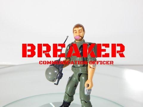 1982 Vintage G.I. Joe Communications Officer Breaker Action Figure Review