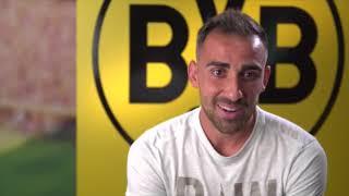 Das sagt Paco Alcacer über seinen BVB-Wechsel (mit deutschem Untertitel)