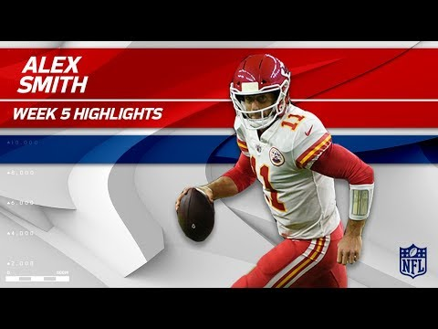 Alex Smith Leads KC to Victory w/ 3 TDs & 324 Yards! | Chiefs vs. Texans | Wk 5 Player Highlights