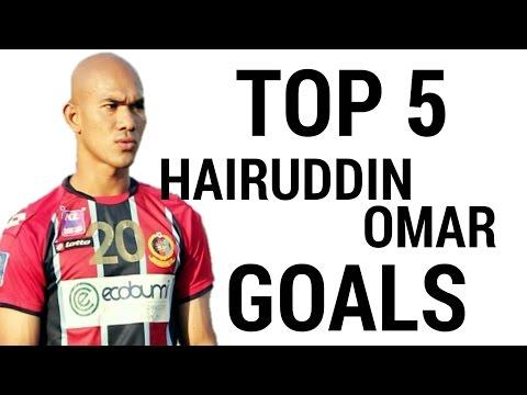 Top 5 Hairuddin Omar Goals