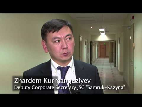 In Kazakhstan: Governing & Managing Better Corporations