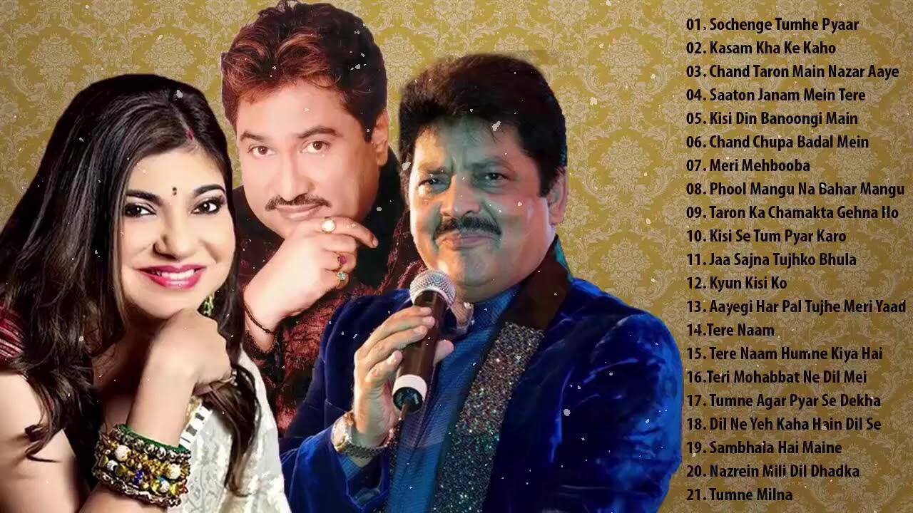 #2_ Best Of Udit Narayan, Alka Yagnik, Kumar Sanu Songs // 90's Evergreen Bollywood Songs Jukebox