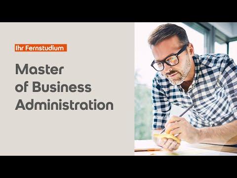 MBA studieren – Master of Business Administration der SRH Fernhochschule
