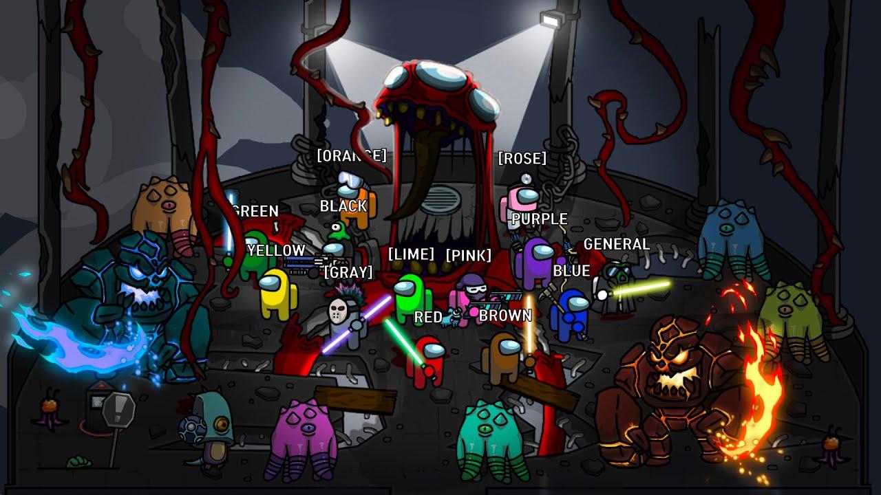 Among Us Zombie animation season 5 (EP 21 ~ 25)