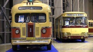 Ретро-автобусы ны выставке ''Urban transport -2017''- ВДНХ