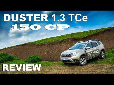 Dacia DUSTER 1.3 TCe, 150CP MT6 - Review | Gabi MARIAN
