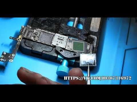 Ремонт IPhone 6s, Reballing CPU A9, кидаем квартет на другую доску, часть первая
