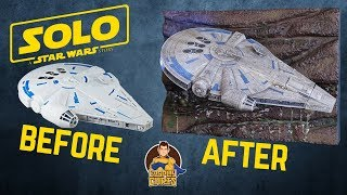 """Solo: A Star Wars Story"", Millennium Falcon Makeover- Chris"