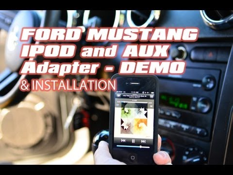 Ford Mustang IPOD AUX mp3 AAI-FRD04 AAIFD4 interface adapter by Pac & Autotoys.com