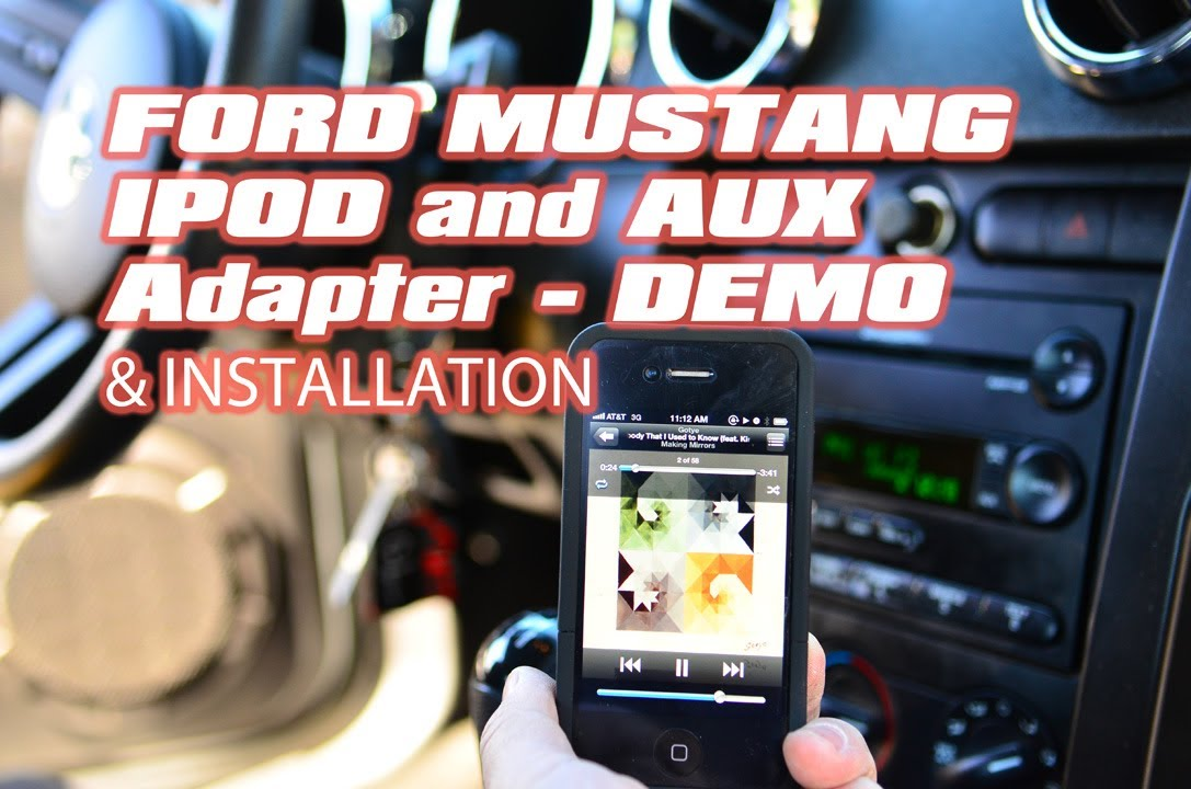 maxresdefault ford mustang ipod aux mp3 aai frd04 aaifd4 interface adapter by 2006 mustang shaker 500 wiring diagram at bayanpartner.co