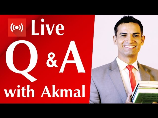 Q & A Live session with M. Akmal The Skill Sets