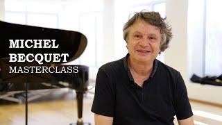 Masterclass amb Michel Becquet - Cicle Liceu Cambra